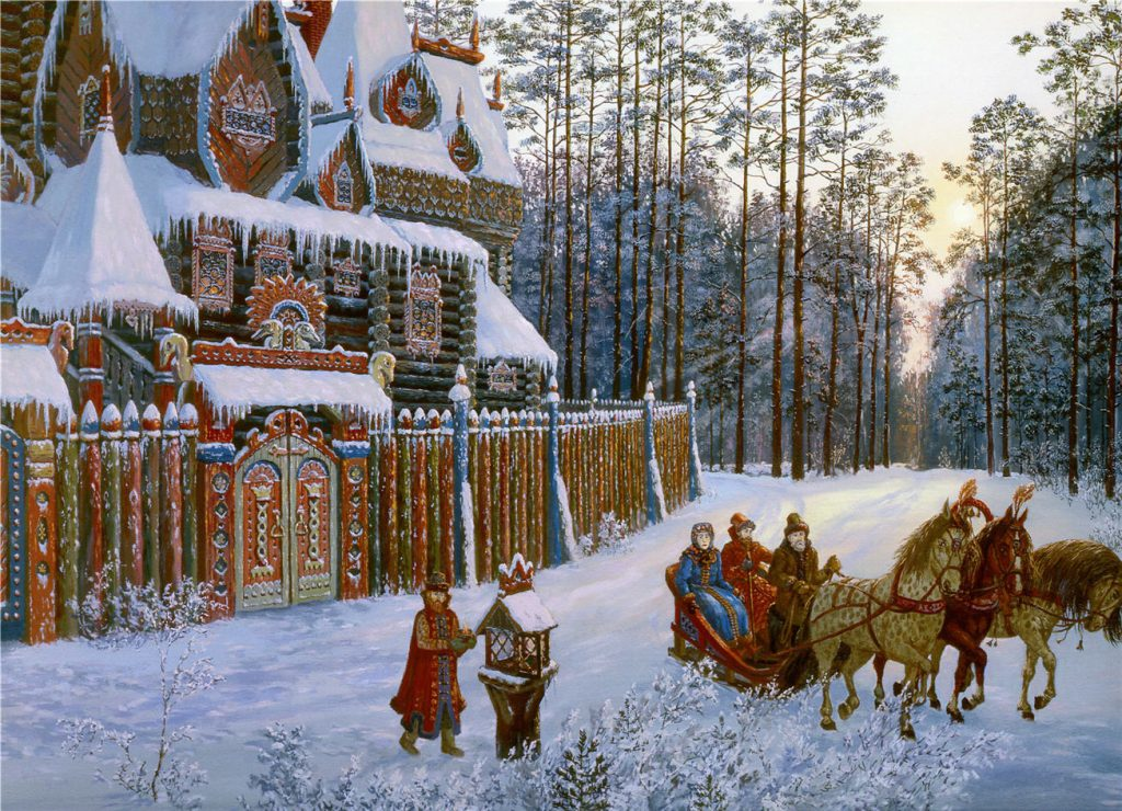 История Деда Мороза кто такой Дед Мороз-2