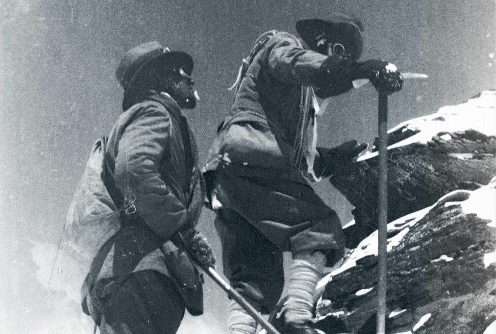 Кто первым в мире покорил Эверест-4