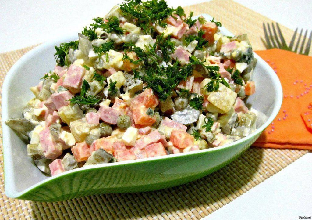 Кто придумал салат Оливье