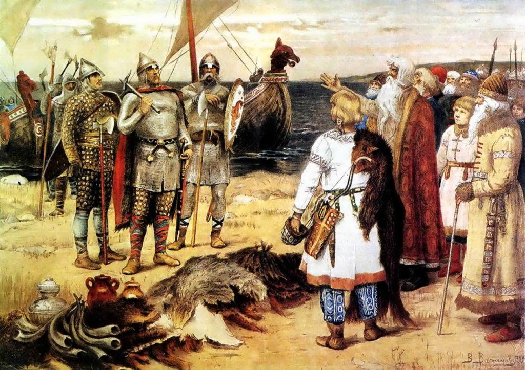 Кто был первым князем варягом на Руси-2