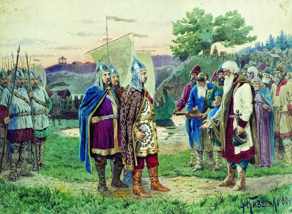 Кто был первым князем варягом на Руси-8